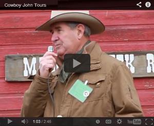 Cowboy John Tours Video