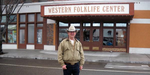 John at the Folklore Center