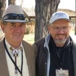 Cowboy John and Photographer Larry Burton