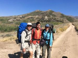 Ruby Crest Trail hike September 9, 2015
